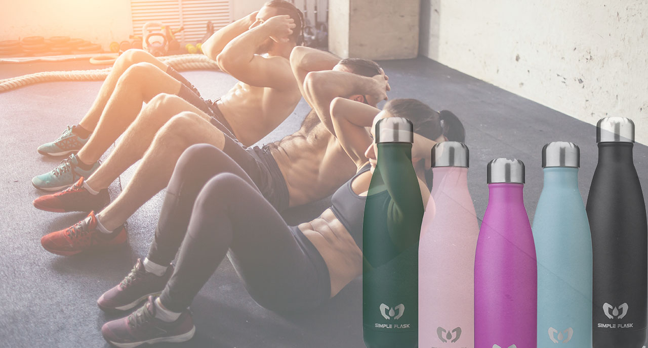 Simple Flask best workout gear