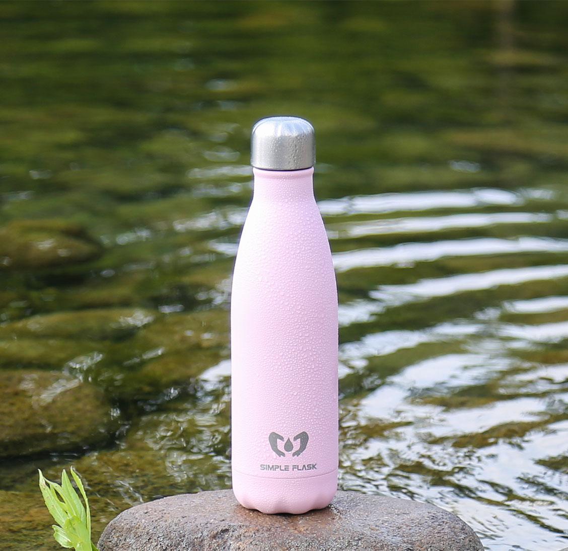 Simple Flask stainless steel water bottle